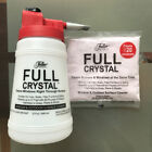 Full crystal outdoor glass window cleaning handheld bottle spray, powder refill