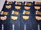 BRAND NEW LEVI'S 501 ORIGINAL FIT JEANS BUTTON FLY NWT 100%O