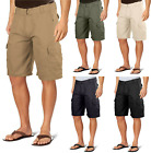 Revolution Men's Multi Pockets Cargo Shorts with Belt Casual