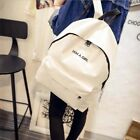 Fashion Women Ladies Canvas Backpack Soft Casual Rucksack School Travel Bag