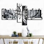 Hand-painted Modern Black and white Abstract Oil Painting On Canvas Wall Art