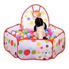 Large Children Kids  Play Tent Ocean Ball Pit Pool Game Indoor Outdoor Playhouse