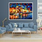 3D Color Water City 88 Fake Framed Poster Home Decor Print Painting Unique Art