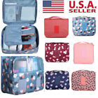 Travel Cosmetic Storage Make Up Bag Folding Hanging Toiletry Organizer Pouch HX