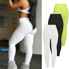 Womens Ladies Butt Lift Hip Push Up Leggings Fitness Workout Stretch Yoga Pants