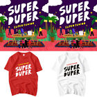 Kpop SUPER JUNIOR T-shirt REPLAY Tshirt Super Duper SJ Tee D708