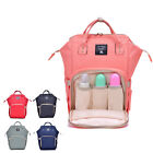 Mummy Maternity Nappy Diaper Bag Waterproof Changing Large Capacity Travel Baby