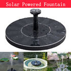 Solar Powered Fountain Water Floating Bird Bath Pump Garden Pond Pool Outdoor