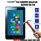 Real Tempered Glass Screen Protector For Lenovo Ideatab 7.0'' 8.0'' 10.1''Tablet