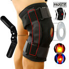 Double Hinged Knee Brace Open Patella Support Stabilizer Medical Sports Wraps US $16.95 USD on eBay