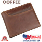 Men's RFID Blocking Full Grain Leather with Quick Card Access Bifold Wallet
