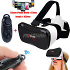 VR Virtual Reality Headset 3D Glasses + Controller For Samsung Galaxy SmartPhone