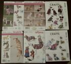 Dog Pet Clothes Pattern McCalls 5998 6218 Simplicity 1239 2393 1578 8538 UNCUT