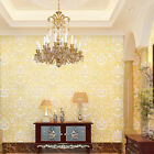 3D 5M Embossed Non-woven Stylish Wallpaper Roll Living Room Bedroom Decoration