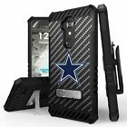 For ZTE ZMax One / Grand X4 / Blade Spark Armor Clip Case Punisher/Camo/ Cowboy