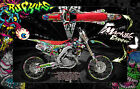 "HONDA 2009-2019 CRF250 CRF450 GRAPHICS DECALS WRAP ""RUCKUS"" CRF250R CRF450R"