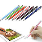 1/5/10X 2in1Touch Screen Stylus Ballpoint Pen for iPad iPhone Samsung Tablet PLC