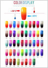 BELLE FILLE Nial Polish 60pcs Cat Eye gel + 48pcs thermo gel + 24pcs Chameleon