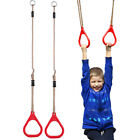 Kids Trapeze Bar Home Swing Sets Pull Up Gym Rings Playground