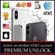 PREMIUM UNLOCK SERVICE iPHONE 11 11PRO XS XR X 8 ACTIVE ON ANOTHER AT&T ACCOUNT