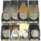 METZ COCK NECK GRADE #3 - Fly Tying Rooster Cape Dry Fly Hackle Feathers NEW!