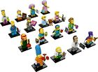 Lego 71009 Minifigures The Simpsons Series 2 Complete Set of 16, Factory-sealed