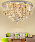 Modern Fashion K9 crystal ceiling lamps LED chandeliers Lighting Fixture #8692
