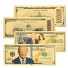 High Quality Realistic Banknotes 24K Gold Plated Dollars Collection Gifts 4229