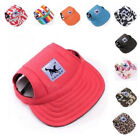 Baseball Hat Visor New Summer Outdoor Sports With Canvas For Cute Puppy And Cat