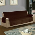 Reversible Sofa Couch Quilted Cover Anti Skid Slip Pet Protector Sofa Slip Throw