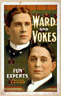 Photo Print Vintage Poster: Stage Theatre Flyer People Stars Ward And Vokes 01