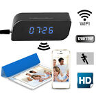 HD720P Wireless Wifi IP Spy Hidden Camera Motion Security Alarm Clock IR DVCam B