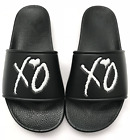 The Weeknd XO Slides Black Sandals