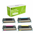 Remanufactured C746H1KG HY + C746A1CG MG YG Made in USA Toner For Lexmark C746