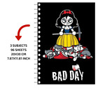 Bad Day Notebook By Javi Molner 3 Subject 21x29cm  Bad Day Collection