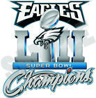 Philadelphia Eagles 2018 Super Bowl Champions 52 Decal / Sticker on eBay