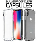 THIN Crystal Clear Back Aluminum Metal Bumper Slim Case Cover iPhone X XS