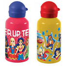 DC Super Hero Girls Aluminium Water Bottle Container  2 Designs for Kids