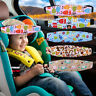 Car Headrest Soft Cushion Children Relaxing Travel Sleeping Vehicle Head Support