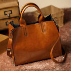 Leather Handbags Women Bag Trunk Handbag Luxury Casual Tote Travel Shoulder Bags
