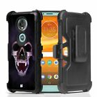 Shadow VAMPIRE Skull Hybrid Armor Belt Clip Rugged Tough Case MOTOROLA Series