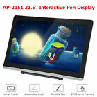 21.5'' IPS Paperless Drawing Tablet Pad Graphic Board 1920 1080 Interactive Pen