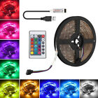 5V 100-500CM USB LED Luces de tira TV Espalda RGB Cambio color + Control remoto