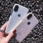 Girls Crystal Clear Shockproof Case Soft Silicone Case For iPhone X 7 8 Plus Max