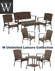 W Unlimited Leisure Collection Garden Patio Furniture Sets-pick Your Set!