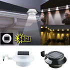 Garden Outdoor Fence Post Wall Shed Step Lights Solar Powered Led Lights K8