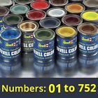 Revell 14ml Enamel Paints - Numbers: 01 to 89 (Part 1) - Find complete selection <br/> Shipping £2.49 per order - Part 2: 113186015196
