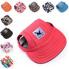 Outdoor Baseball Cap New Canvas Summer Sports Travel Visor Hat For Pet Dog Cat