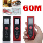 60M Handheld Portable Digital Laser Range Finder Meter Distance Measuring Tools