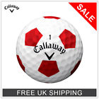 ***CALLAWAY CHROME SOFT TRUVIS GOLF BALLS - WHITE / RED - HUGE SALE NOW ON!!!***